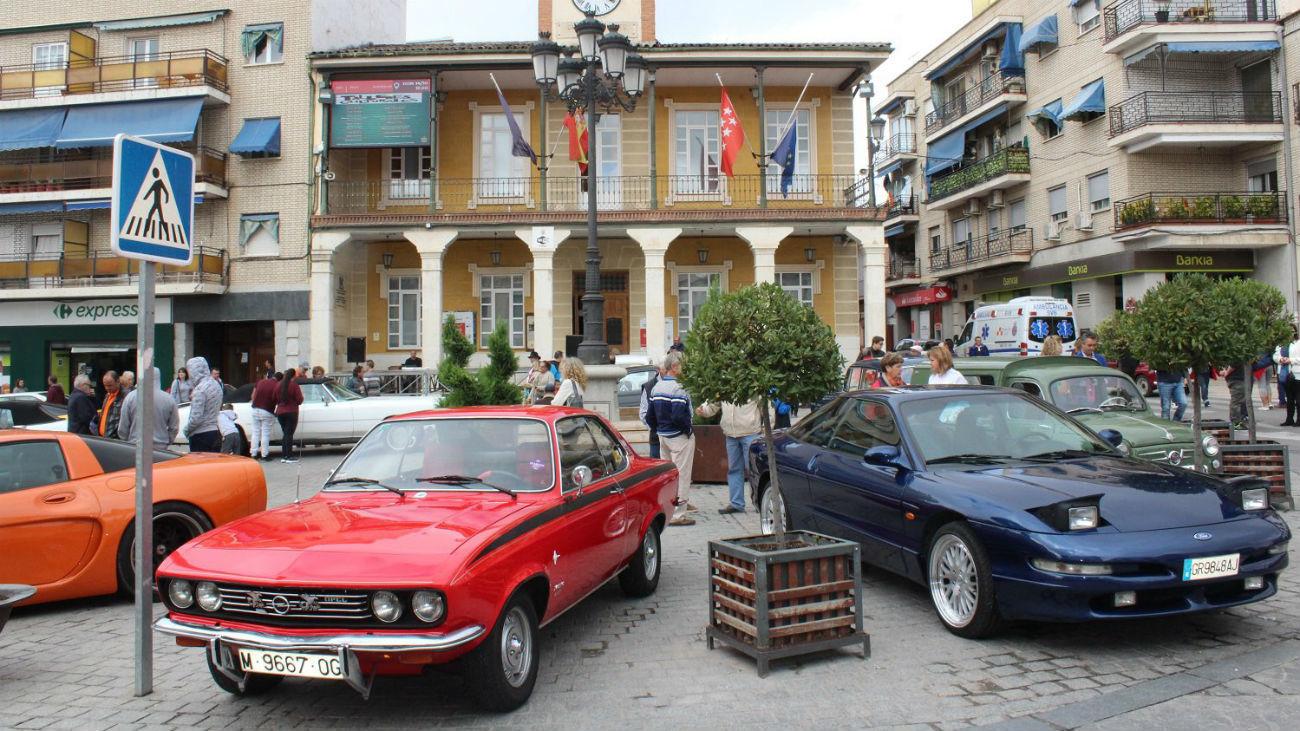Coches clásicos, en Morata
