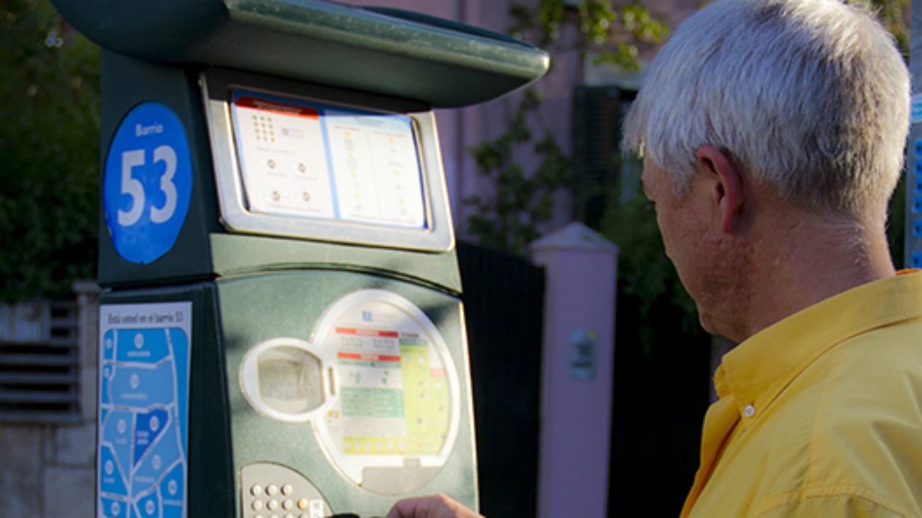 Galapagar ha reanudado el servicio de estacionamiento regulado