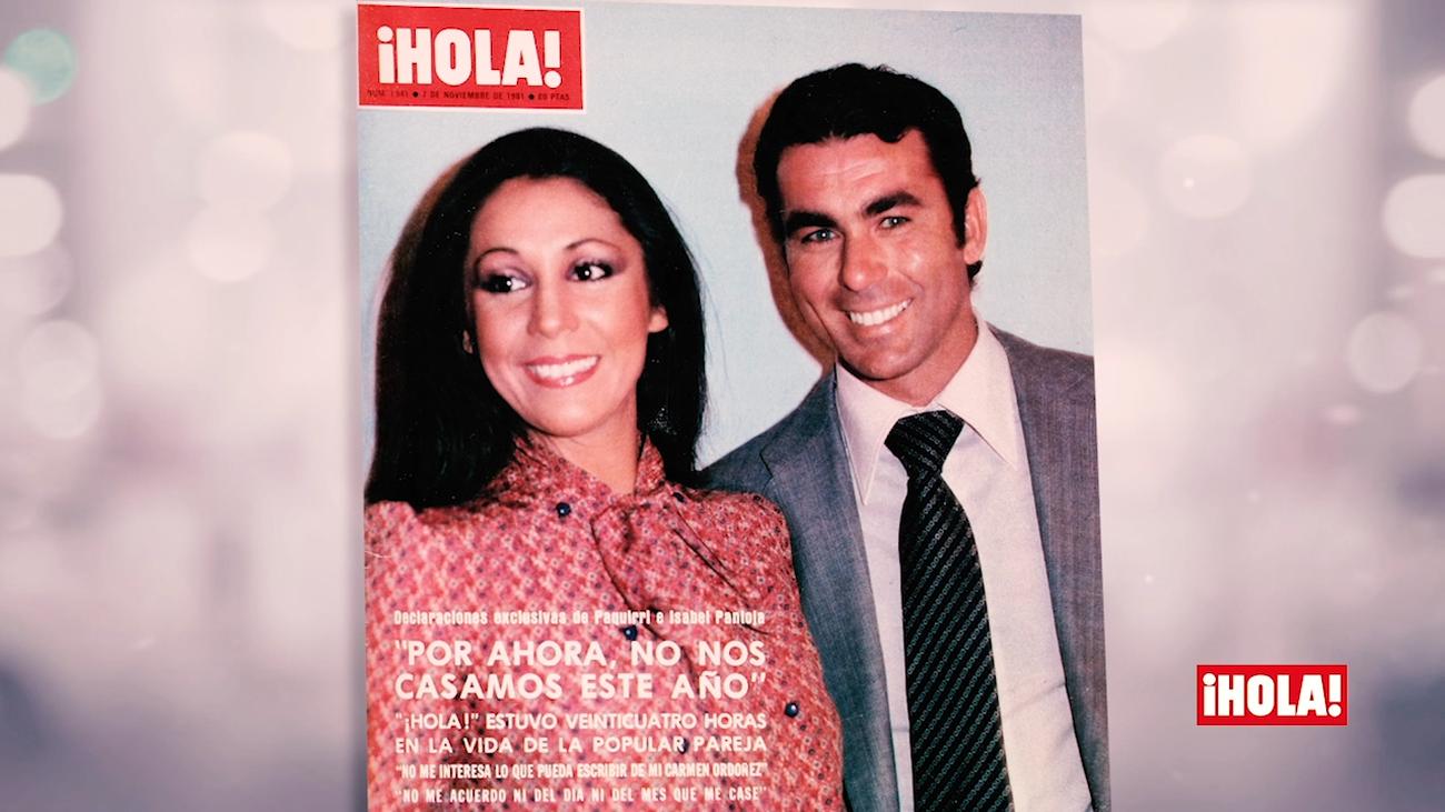 Isabel Pantoja, Paquirri, Miguel Bosé o Lady Di, los protagonistas de ¡Hola! en 1981