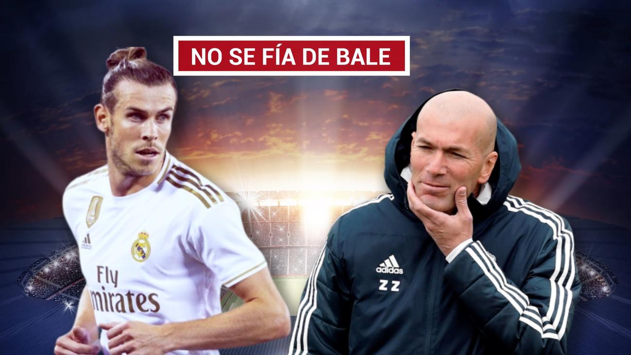 Zidane teme que Bale vuelva a las andadas