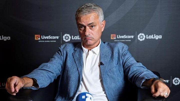"""Mourinho: """"Siento que las puertas del Madrid están abiertas"""""""