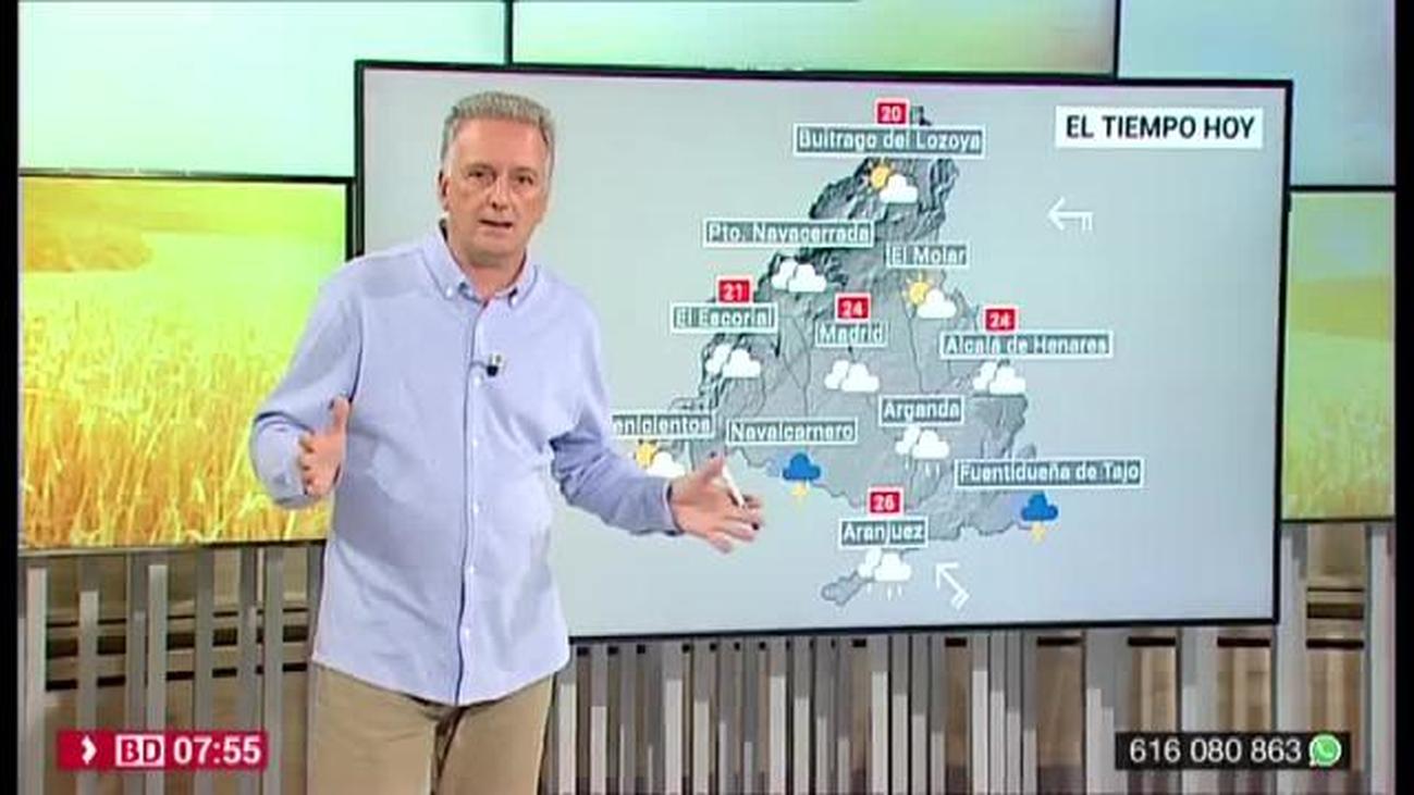 La Aemet pronostica chubascos y tormentas intensos en la zona sur de Madrid