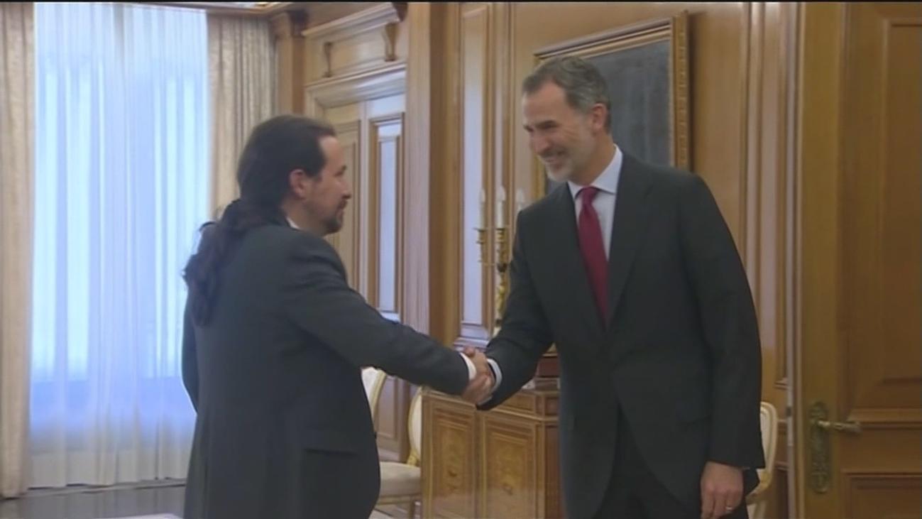 Iglesias pedirá al Rey apoyo con Sánchez para un gobierno de coalición