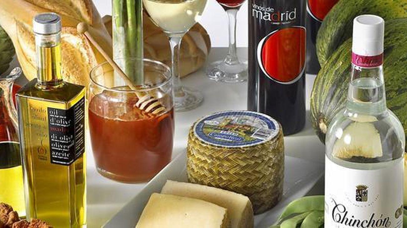 Productos gastronómicos de la Comunidad de Madrid