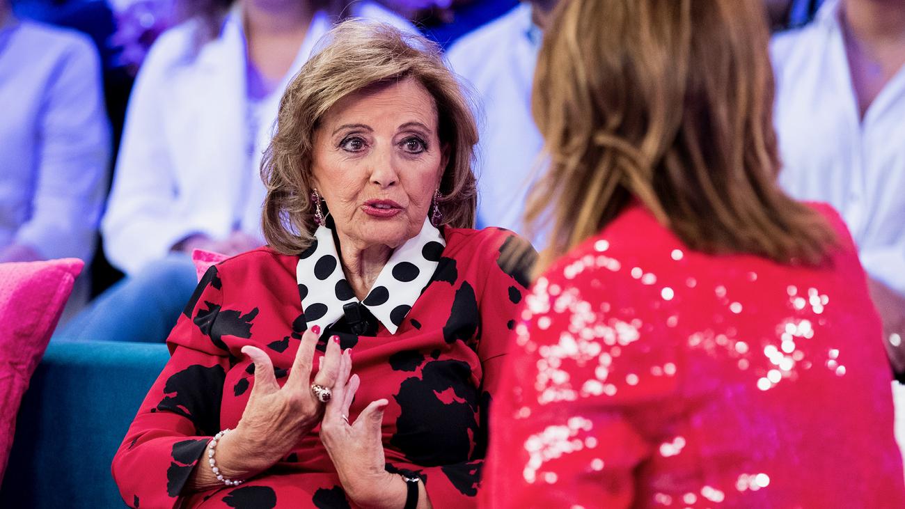 """María Teresa Campos: """"No veo los programas que hablan de mí por salud"""""""