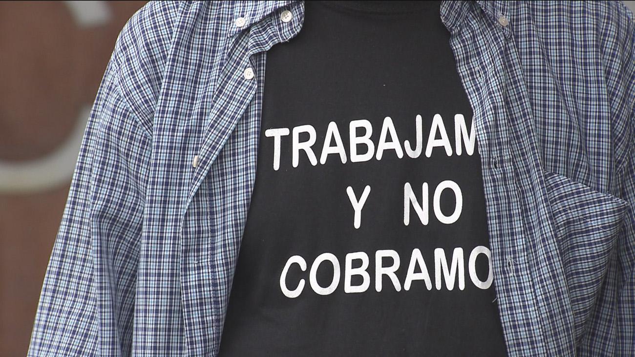 Los 58 empleados de una contrata del ayuntamiento de Alcobendas llevan 5 meses sin cobrar