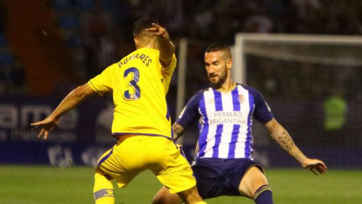 1-1. Alcorcón rescata un punto con nueve jugadores