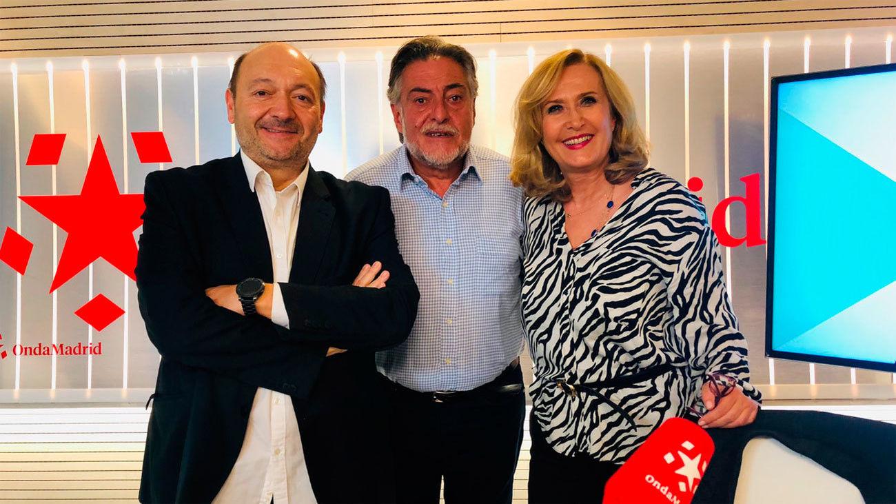 Pepu Hrnández en 'Madrid Directo' de Onda Madrid