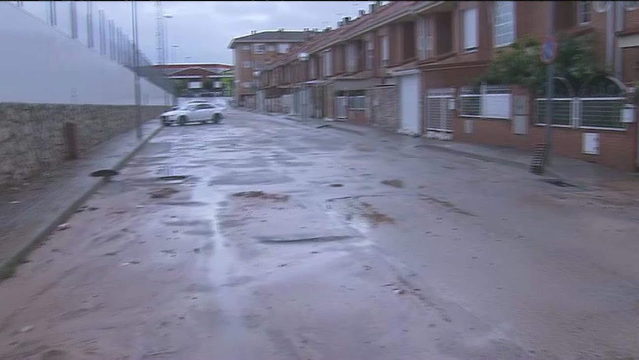 Calles convertidas en ríos en Campo Real
