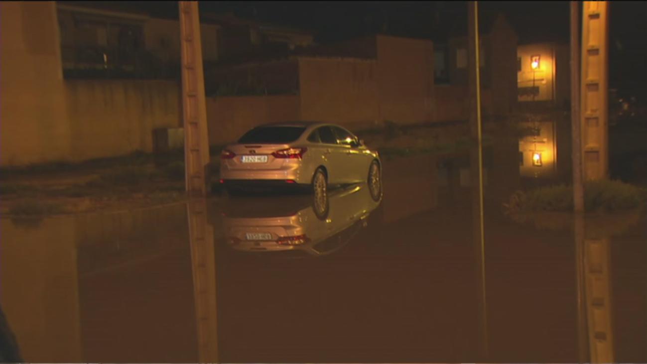 Una tormenta inunda San Martín de la Vega