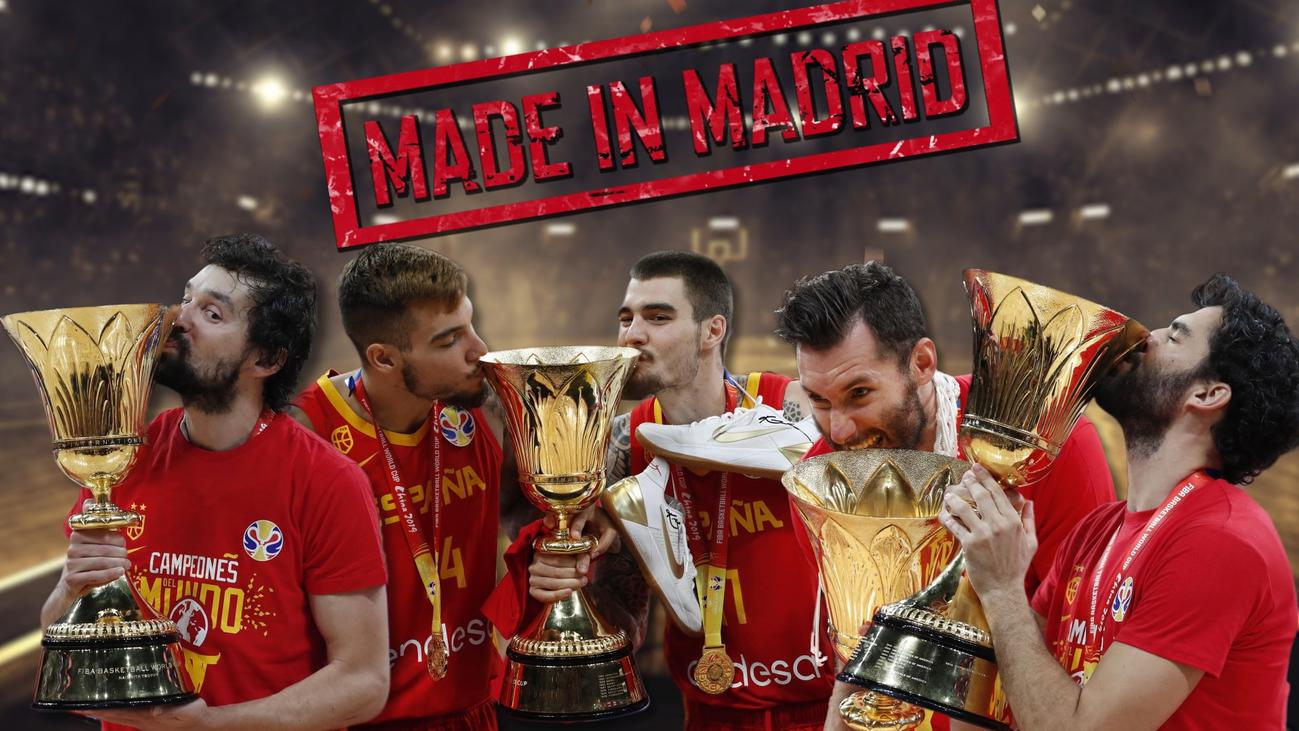 El oro más madrileño