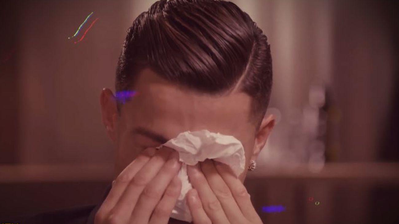 El motivo por el que Cristiano Ronaldo se deshizo en lágrimas durante una entrevista
