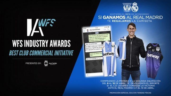 El Leganés, nominado a los WFS Industry Awards