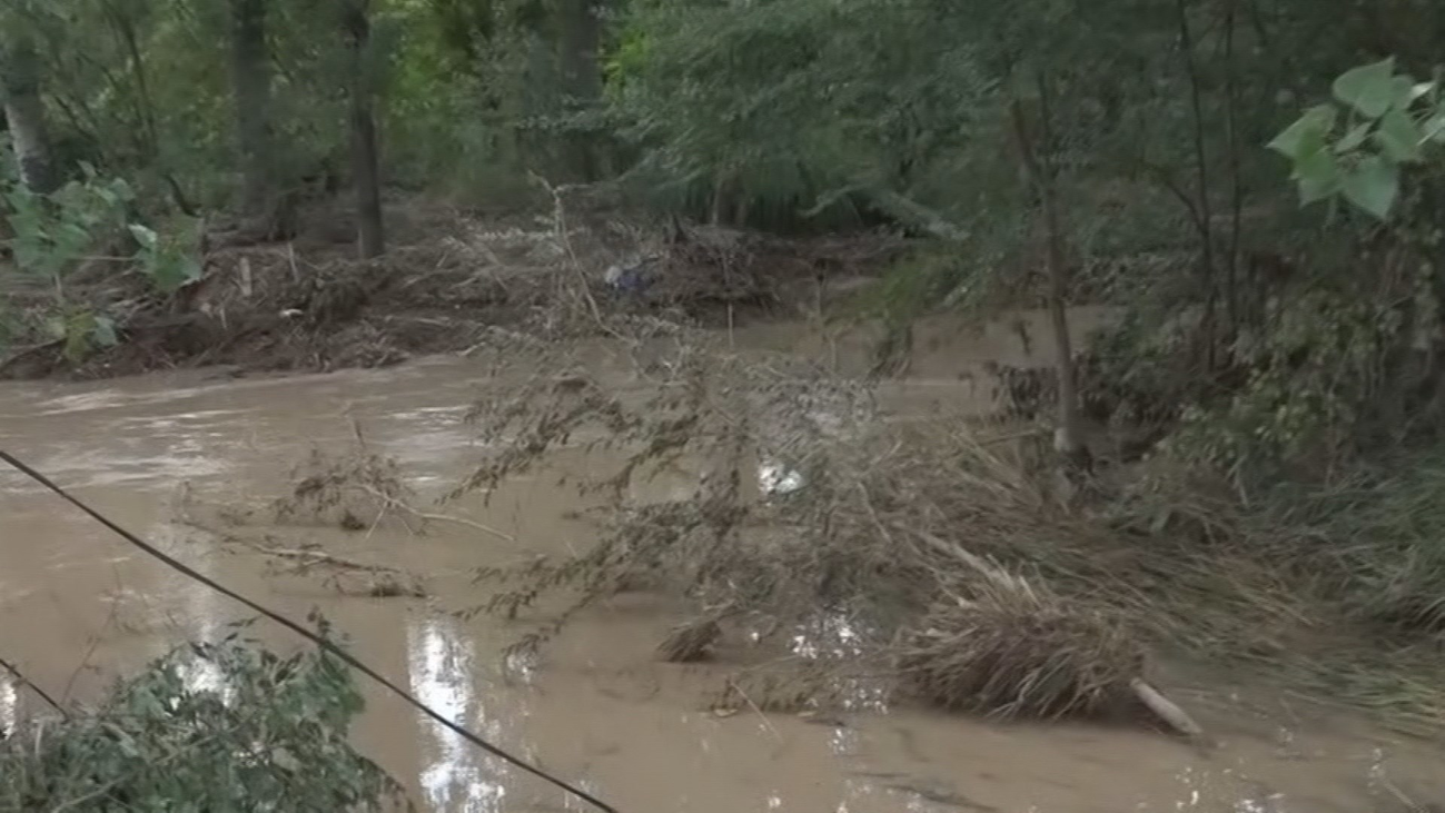 Los cultivos de Carabaña, completamente destrozados tras el paso de La Dana