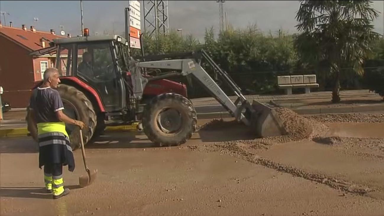 Campo Real se recupera de los efectos de la tromba de agua
