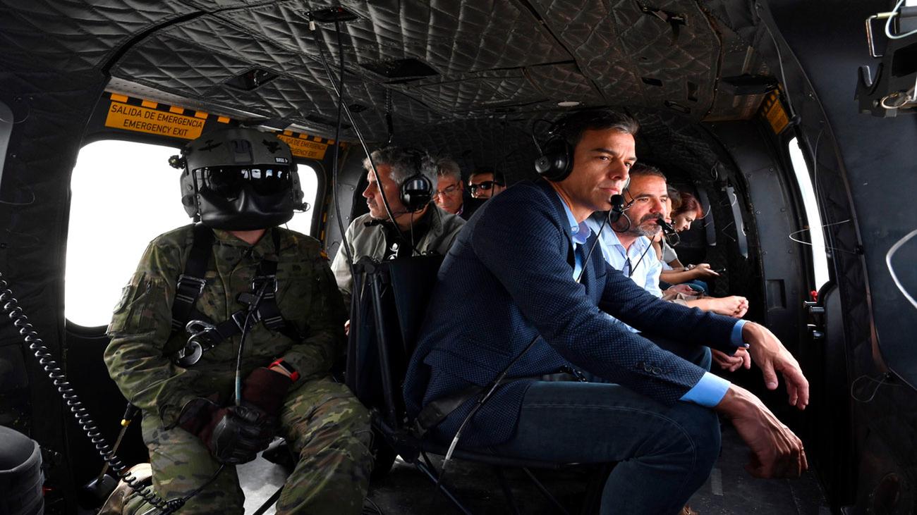 """Sánchez dice que el Gobierno no va a """"escatimar en recursos"""" tras la gota fría"""