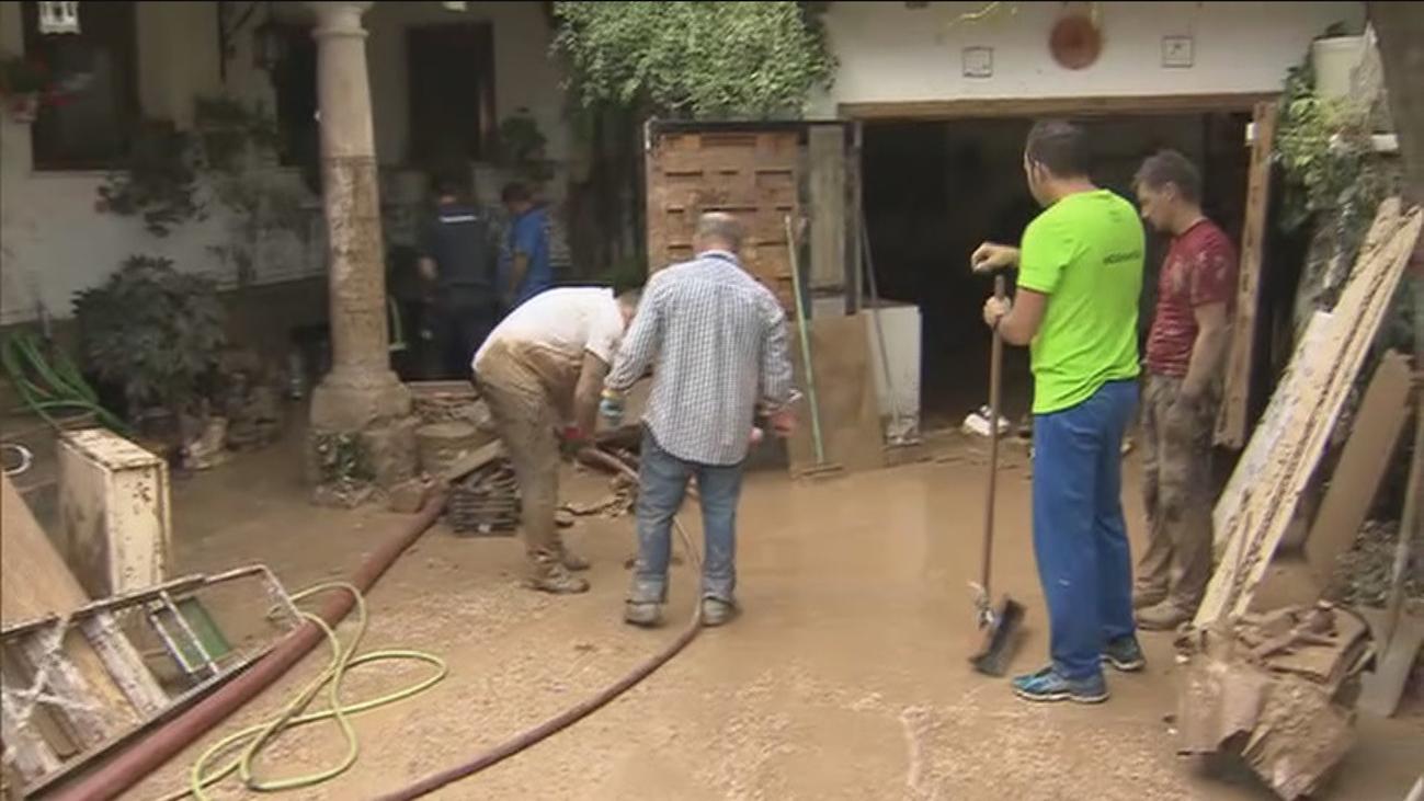 La Comunidad anuncia ayudas para paliar los efectos del temporal en el sureste de la región