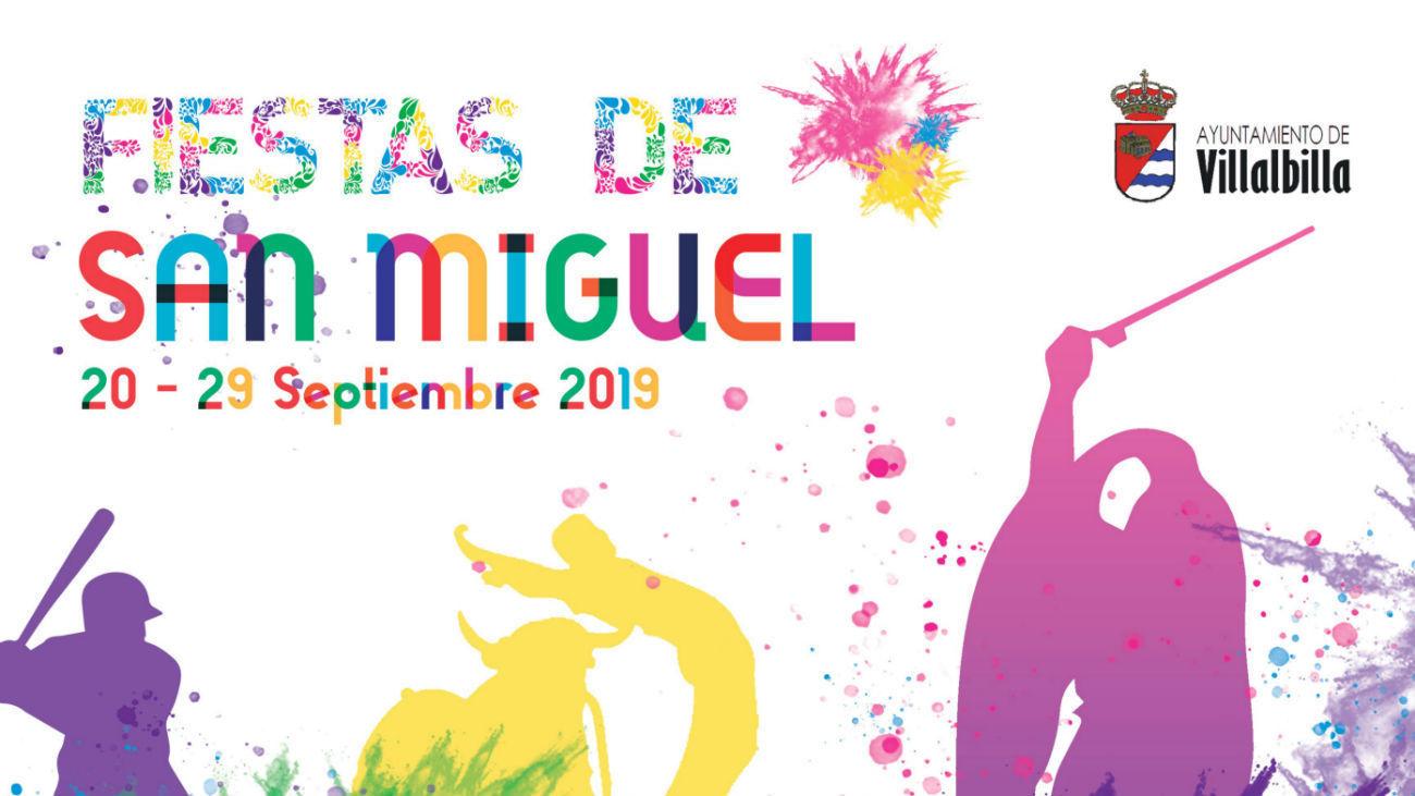 Cartel de las fiestas de Villalbilla