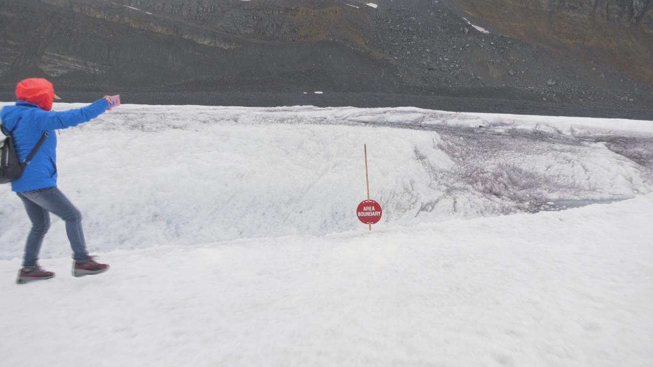 Descubrimos el milenario Glaciar de Athabasca en Calgary