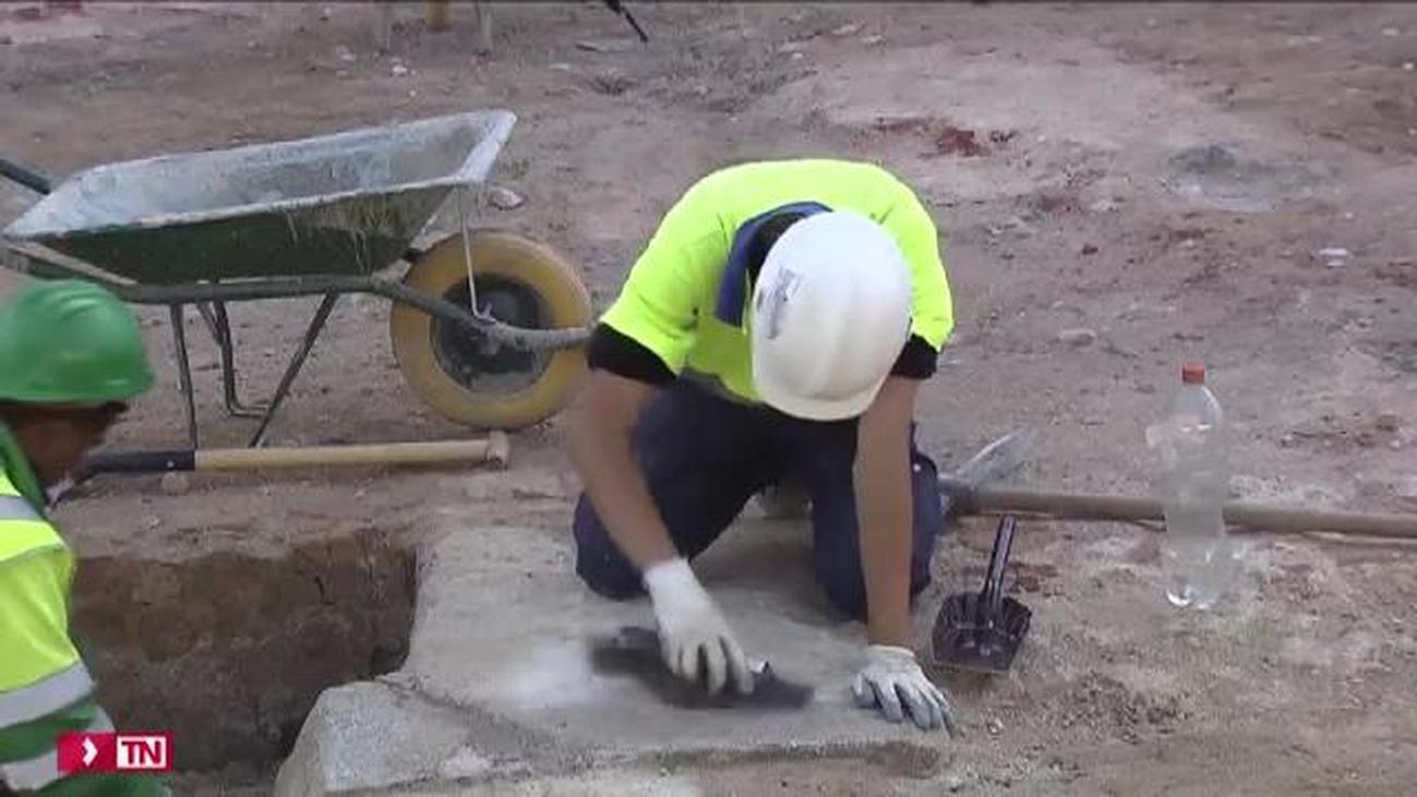 Las obras sacan a la luz tesoros arqueológicos de Madrid