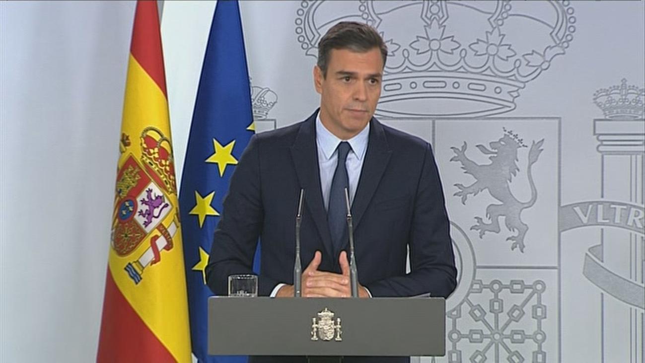 """""""Lo he intentado por todos los medios pero ha sido imposible"""", dice Sánchez"""