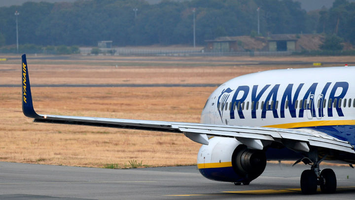 Ryanair reduce un 20% su capacidad en septiembre y octubre por la menor demanda