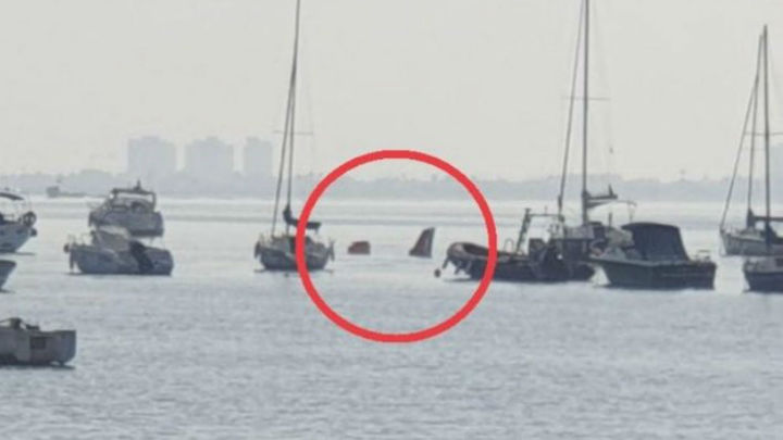 Un instructor y una alumna, fallecidos en el accidente de un avión militar en Murcia