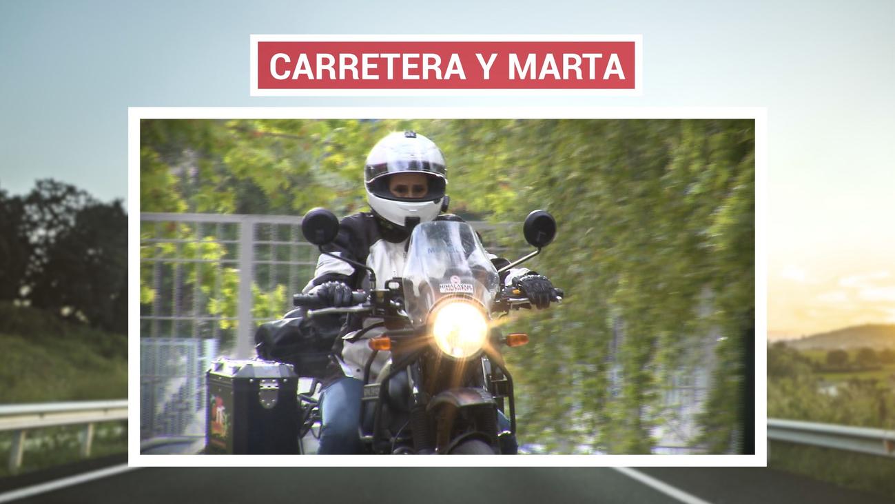 Marta Insausti dará la vuelta al mundo en moto