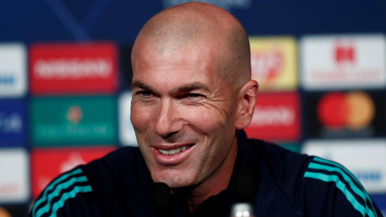 """Zidane: """"Debemos mejorar y vamos a hacerlo ante el PSG"""""""