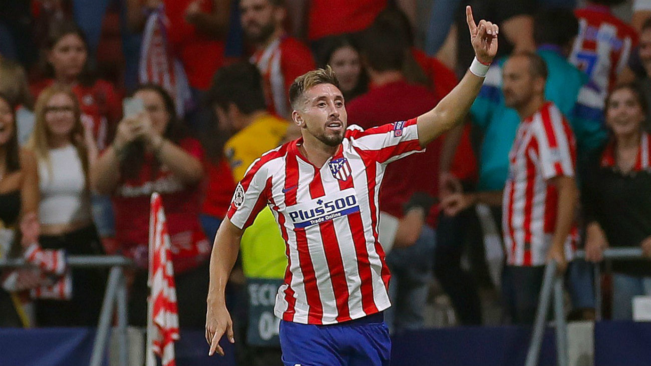 Gol de Herrera, del Atleti, al Juventus (2-2)