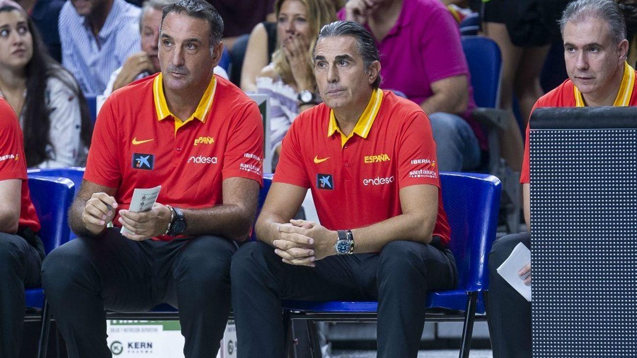 Luis Guil y Sergio Scariolo