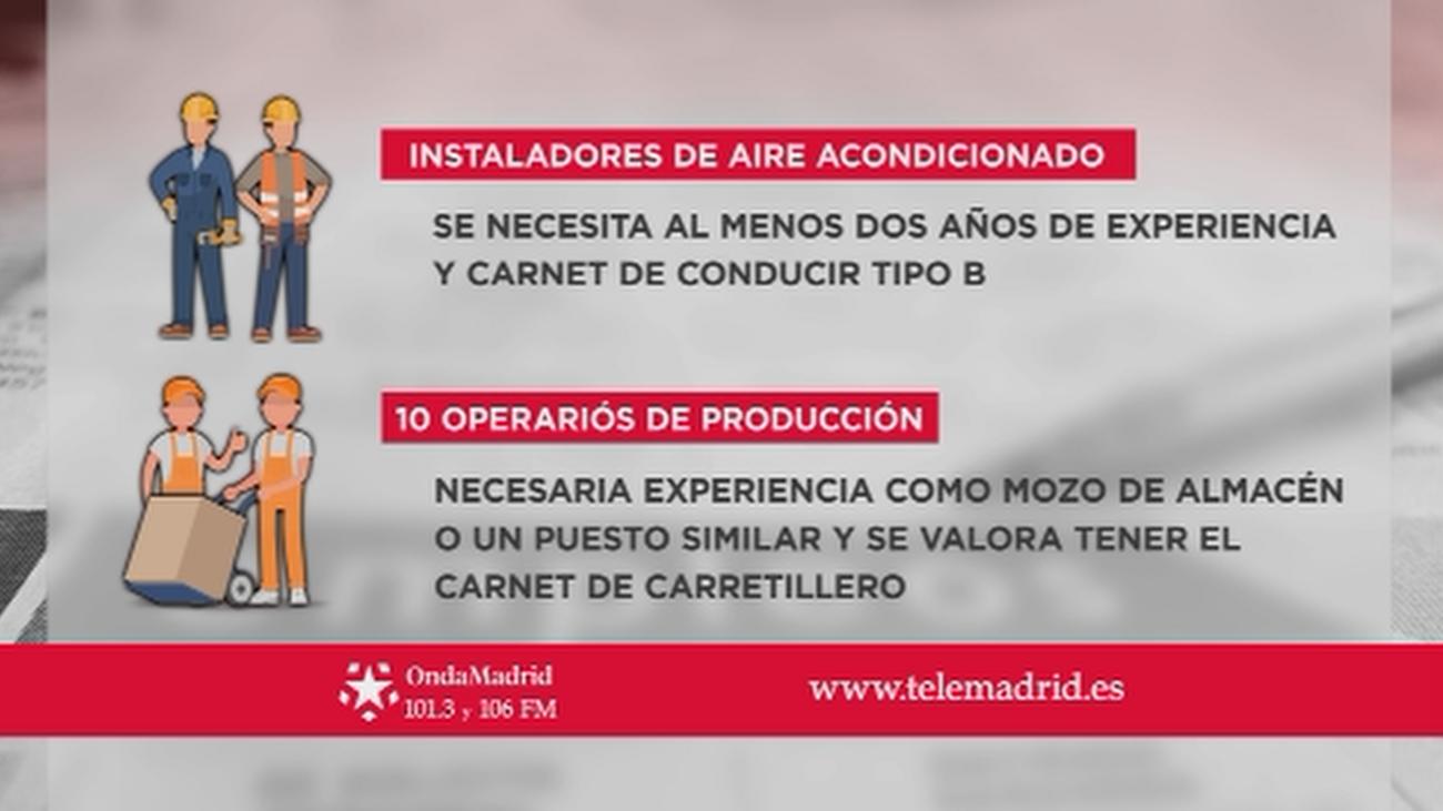 Se buscan instaladores de aire acondicionado para trabajar en Madrid