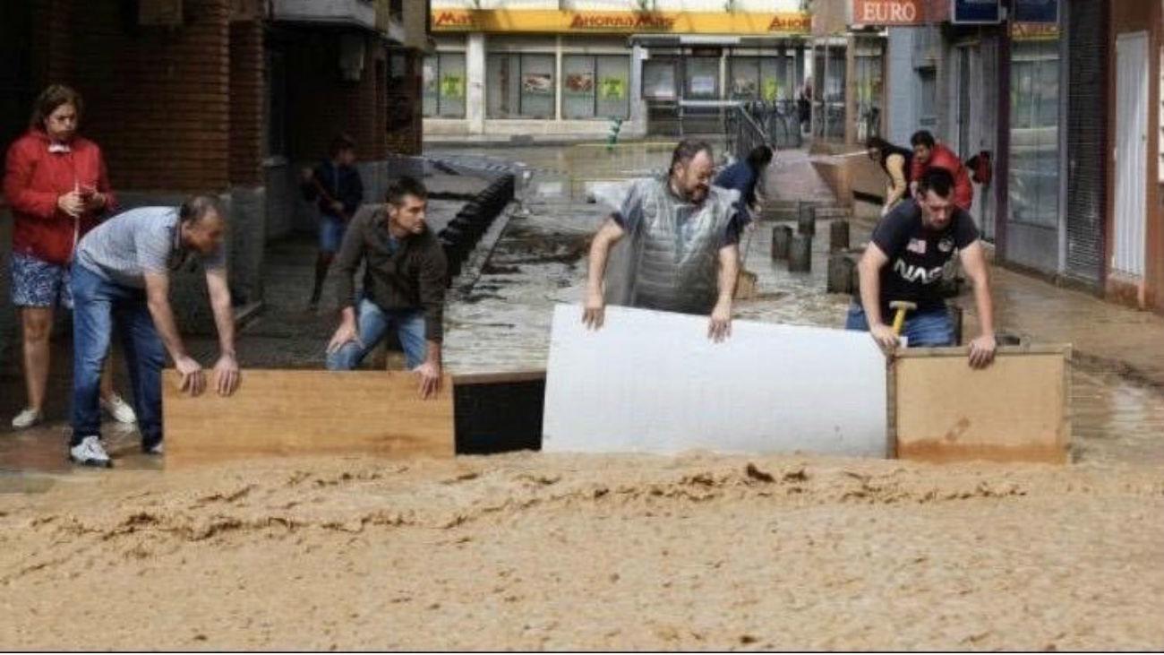 El riesgo por inundación en Madrid afectaría a miles de madrileños