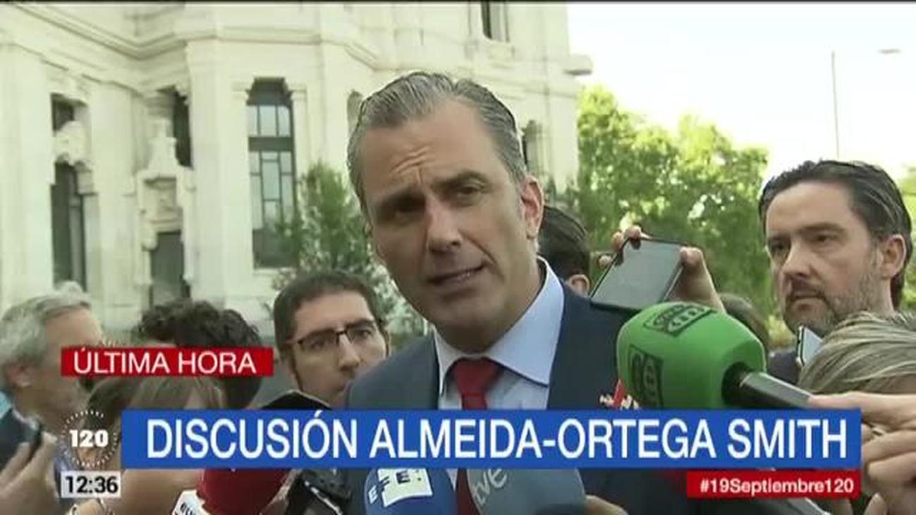 """Ortega Smith: """"Nadie nos va a ganar en respeto y en defensa de las víctimas, pero de todas"""""""