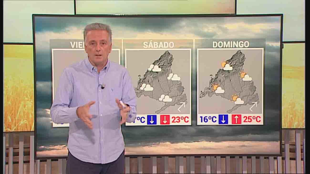 Lluvias y tormentas, quizá con granizo, este fin de semana en Madrid