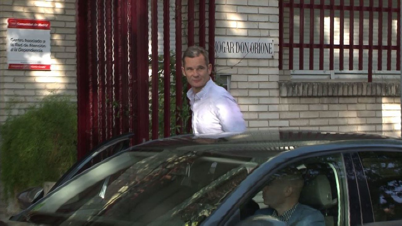 Primeras imágenes de Iñaki Urdangarin saliendo de la cárcel