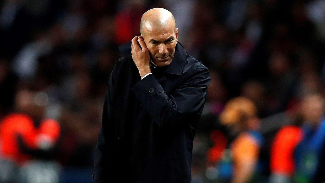 """Zidane: """"Me preocupa la falta de intensidad del equipo"""""""