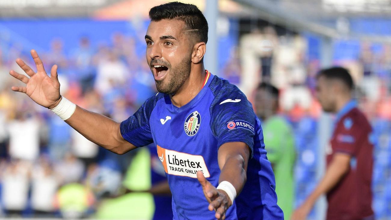 1-0. Ángel da la victoria al Getafe en su vuelta a Europa