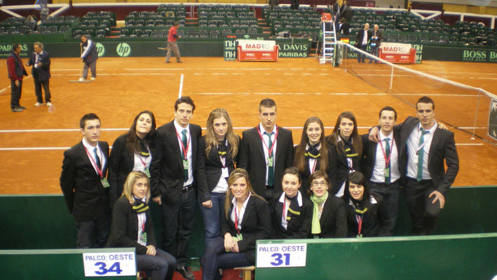 Adecco busca a 500 personas para trabajar en la Copa Davis en Madrid