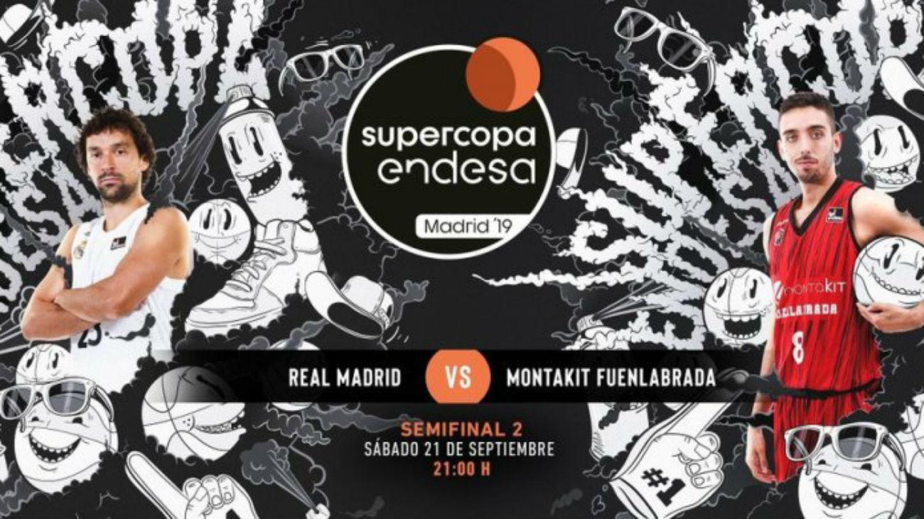 Real Madrid-Fuenlabrada, duelo en la Supercopa