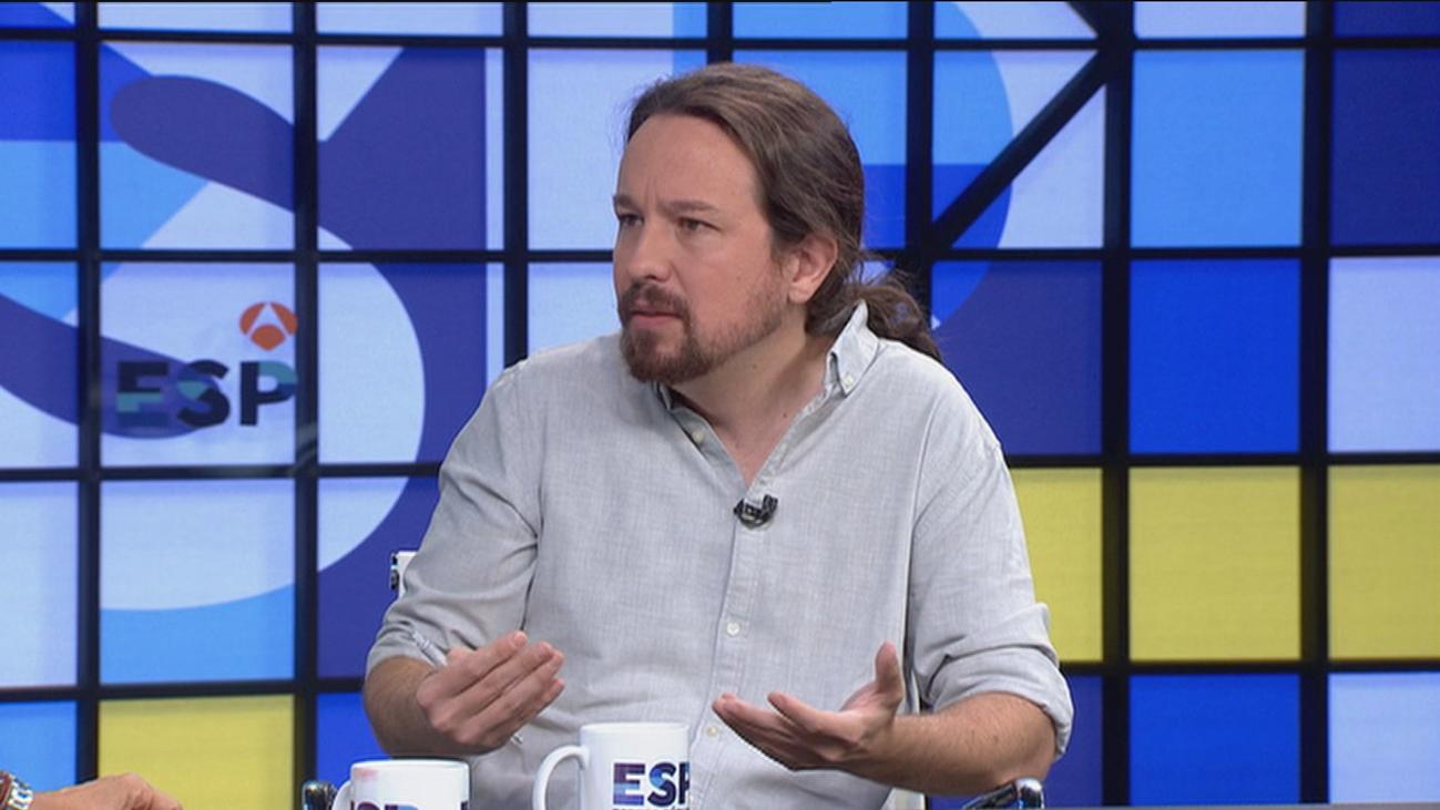 """Iglesias dice que Errejón participará en la política estatal """"en su propio partido o en el PSOE"""""""