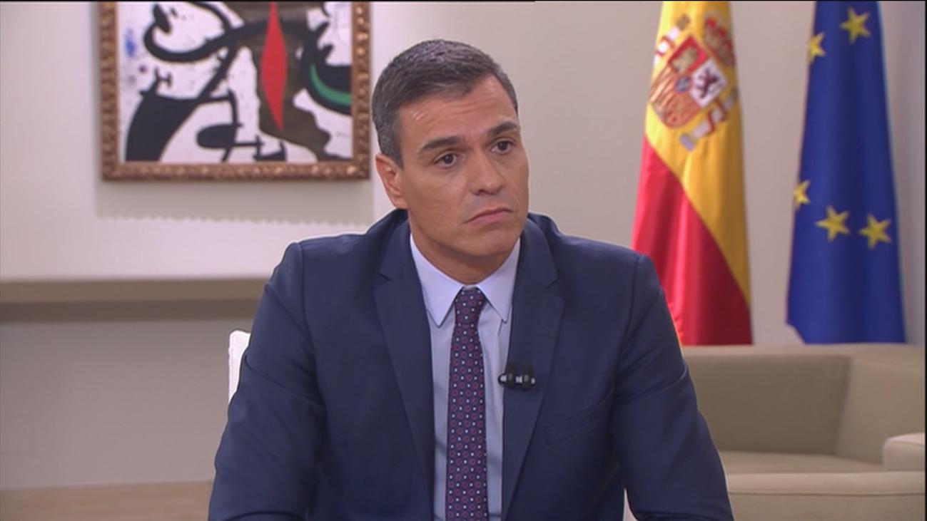 """Pedro Sánchez """"no dormiría tranquilo"""" si hubiese aceptado la coalición con Pablo Iglesias"""