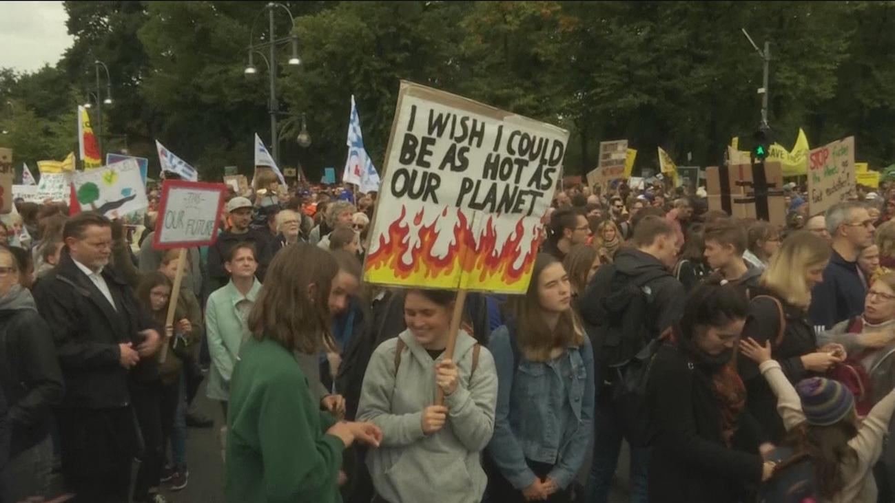Los jóvenes toman las riendas de la movilización mundial contra el cambio climático en Alemania