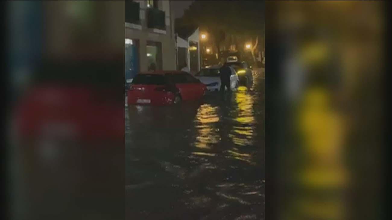 Inundaciones en Serranillos del Valle tras 15 minutos de tromba de agua