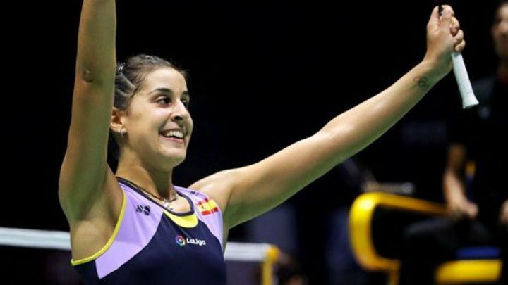 Carolina Marín gana su primer título tras ocho meses lesionada
