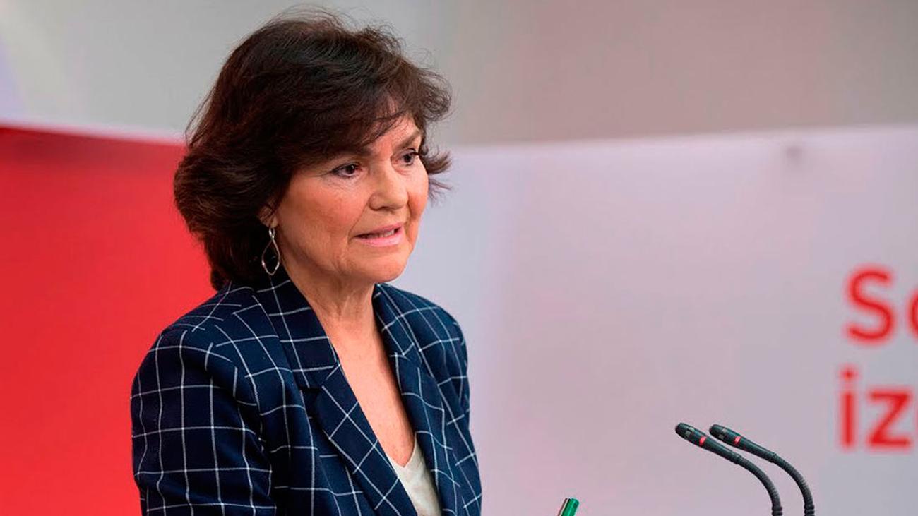 """Carmen Calvo sobre las Elecciones Generales: """"No son un fracaso"""""""