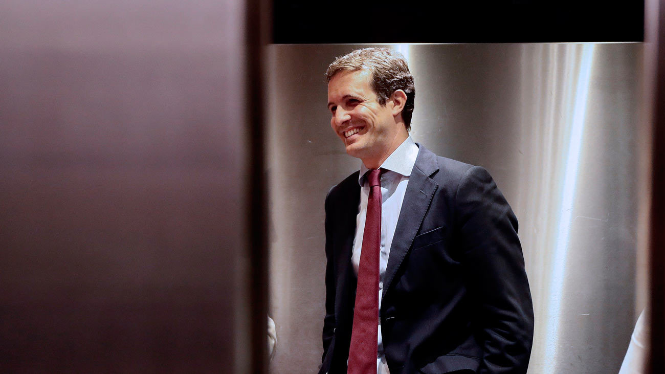 Pablo Casado acusa a Sánchez de la repetición de elecciones