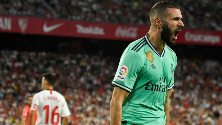0-1. El Real Madrid gana con un gol de Benzema