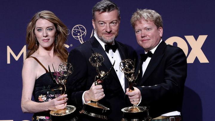 Annabel Jones, Charlie Brooker y Russell Mclean, galardonados a la mejor película de Televisión con 'Black Mirror: Bandersnatch'