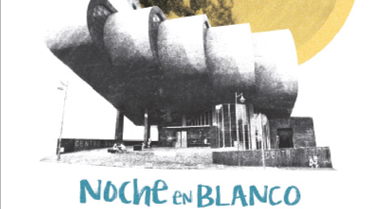 Cartel de la 'Noche en Blanco' de Alcobendas